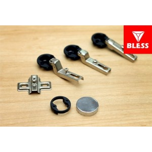 Engsel KEY-HOLE GLASS